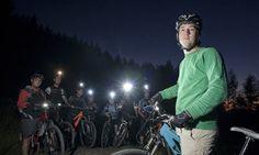 Mountain Biking at night, Wales, UK #mtb #cycling