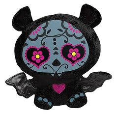 Skelanimals Day of the Dead Diego the Bat 6 Inch Plush Nocturne, Day Of The Dead Skull, Kawaii, Creepy Cute, Pastel Goth, Favorite Holiday, Plushies, Neko, Halloween