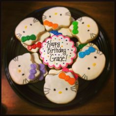 Hello Kitty cookie order :)