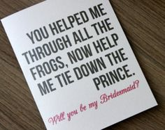 Will you Be My Brides Maid Card, Bridesmaid Card, Will you Be my Bridesmaid Card Funny, Bridesmaid Proposal, Bridesmaid Gift