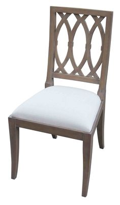 Lady Emily Oval Back Side Chair Floor Model