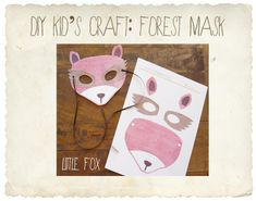 DIY craft fun: fox mask!   Children Inspire Design