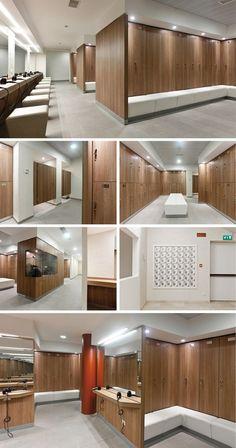 Reception desks, Reception desk, Gym lockers, Gym locker, Storage lockers, Storage locker by GRUPPO P&G: