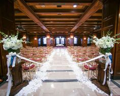 Scottish Rite Cathedral wedding ceremony - weddingday-online.com
