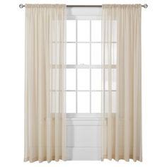 Target Home™ Window Sheer - Heavy Cream YUM!