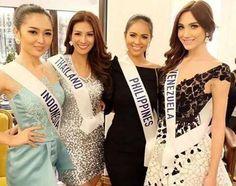 Un Grupo de Candidatas al Miss International 2015, en las Actividades del Concurso..