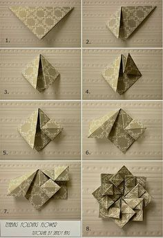 10 Amazing Origami Projects Tutorials -