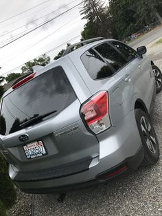 This new Subaru Forester got tinted, everywhere! Looks so sick! If you want your car tinted soon, better call fast before it gets all sunny again! #WindowTinting