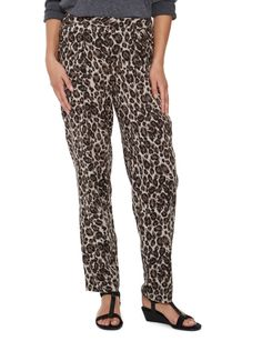A pair of animal printed joggers.#NewandNow