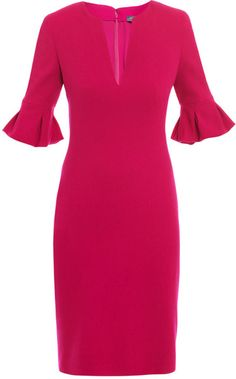 Petal Sleeve Dress: 998.00 Love the retro vibe of these sleeves
