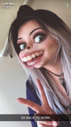 Leda Muir, Halloween Face Makeup
