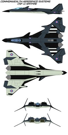 Commonwealth Aerospace Systems CSF-11 Spitfire D d by bagera3005.deviantart.com on @deviantART