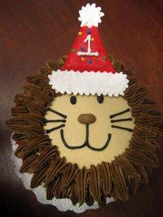 First birthday lion cake!