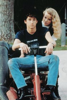 Can't buy me love, 1987. Patrick Dempsey and Amanda Peterson.