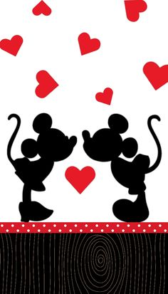 Items similar to DIY Vinyl Iron On Minnie and Mickey Mouse Silhouette Applique - Iron On on Etsy Disney Mickey Mouse, Mickey Mouse E Amigos, Retro Disney, Mickey And Minnie Love, Mickey Mouse And Friends, Cute Disney, Disney Art, Wallpaper Do Mickey Mouse, Disney Wallpaper