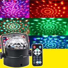 13.62$  Watch now - http://alig45.shopchina.info/go.php?t=32675578369 - Professinal LED RGB Stage Light Magic Ball Crystal Effect DJ  Club Party Automatic Identification Stage Lighting100-240V  #buyonlinewebsite