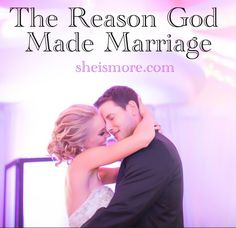 """""""The biblical concept of """"submission"""" to our husbands often gets a bad rap. But the greek translation of submission means to come under the same mission."""" Read more at sheismore.com"""