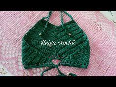 Bikinis Crochet, Crochet Halter Tops, Crochet Crop Top, Black Crochet Dress, Crochet Lace, Tops Tejidos A Crochet, Crochet Designs, Crochet Patterns, Crochet Toddler