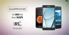 The Sale that never sleeps! Get upto 85% off on #Smartphones . Shop now: http://togofogo.com   #TogoFogo