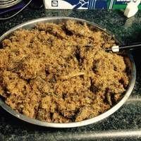 Dendeng Ragi ( Daging bumbu Serundeng )