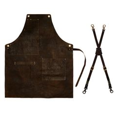 Brown real cow Leather_10pcs limited leather by ARC1designLab