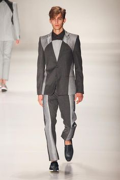 Wonder how this suit will look in real-life. Looks nice on the runway though. // Joao Pimenta Men's S/S '15