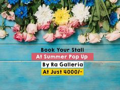 Book Your Stall At Summer Pop Up By Ra Galleria At Just 4000. When: 22nd and 23rd March  Time : 10:30 am to 8 pm Where: RA GALLERIA - 16 Seema Row House, Ghod Dod Road, Surat #Exhibition #Fashion #Food #Accessories #Footwear #HomeDecor #TheSummerPopUp #RaGalleria #CityShorSurat