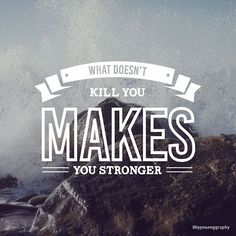 "Kelly Clarkson - Stronger (What doesn't kill you) ""What doesn't kill you makes you stronger""  #typosonggraphy #typography #songs #music #kellyclarkson #stronger"