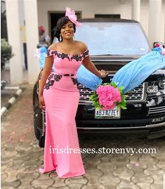 Prom Dresses For African Women 2019 Off Shoulder Pink Evening Dress Gown With Bow Robe de soiree sold by Irisdresses. Shop more products from Irisdresses on Storenvy, the home of independent small businesses all over the world. Off Shoulder Bridesmaid Dress, African Bridesmaid Dresses, African Lace Dresses, Mermaid Bridesmaid Dresses, Latest African Fashion Dresses, Prom Dresses, Pink Evening Dress, Evening Dresses, Lace Gown Styles