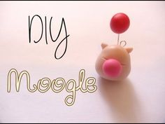 ▶ Final Fantasy Moogle Charm Tutorial [Polymer Clay ^_^] - YouTube