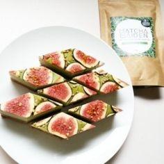 Matcha Maiden Green Tea & Fig Raw Vegan Slice