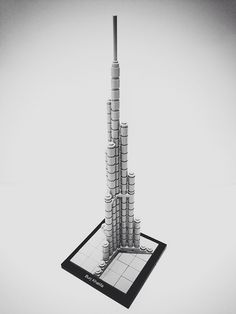 The LEGO Architecture Burj Khalifa set