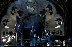 Phantom reveals himself to Christine entering from the balcony.......Love Never Dies.......Australian production