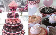 Ideias para você decorar sua festa de 15 anos com cupcakes