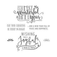 The Wonderful Year Stamp Set is one of My Favorite Things from the Stampin' Up! 2016-2017 Holiday Catalog.  For more details about this product and to shop, visit: http://www.stampinup.com/ECWeb/ProductDetails.aspx?productID=142155&dbwsdemoid=2026178