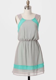 Manchester Colorblocked Dress