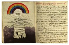 Ceremonial Magick: #Ceremonial #Magick ~ Hermetic Order of the Golden Dawn - W. B. Yeat's Golden Dawn Notebook, representing God in the center of the Universe.