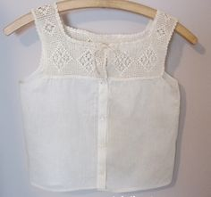 Early 1900s Ladies Camisole Corset Cover -FOR SALE-$12.50 +SH