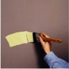 Interior painting: Learn how to properly use a paint brush.
