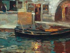 Perlmutter, Izsák (1866-1932) Venice