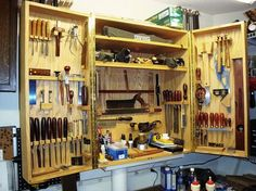 Hand Tool Cabinet.