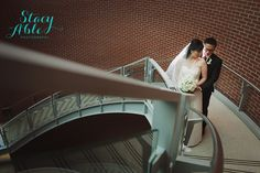 Nan + Yinghao | Wedding Ceremony & Reception. Photos by Stacy Able Photography. #IndianaStateMuseum