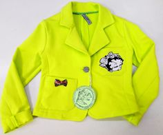 Girl's knitted dżaket. Motive Betty B. Size 122 by Tremokidz on Etsy