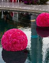 more floating flower balls!
