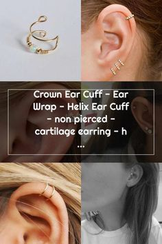 Double Cartilage Piercing Oído del pun o corona plata solo por ChapmanJewelry en Etsy Double Cartilage Piercing Helix Earrings, Cartilage Earrings, Double Cartilage Piercing, Ear Piercings, Christina Aguilera, Helix Hoop, Multiple Earrings, Etsy, Crowns