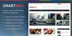 SmartMag - Modern, Clean, Responsive News Paper Magazine WordPress Theme
