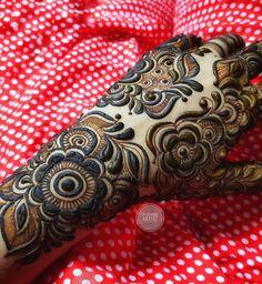 Modern Henna Designs, Latest Henna Designs, Floral Henna Designs, Henna Tattoo Designs Simple, Mehndi Designs Feet, Beginner Henna Designs, Back Hand Mehndi Designs, Mehndi Designs Book, Mehndi Designs 2018
