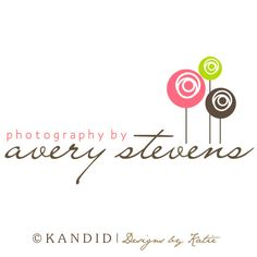 Premade Logo and Watermark Perfect For Branding Your Business- Photoshop Packages Available. $35.00, via Etsy.
