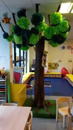 Klasversiering - Een kale boom die je leuk kan versieren per dag/thema/gebeurtenis