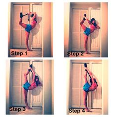 37 Trendy Ideas How To Improve Flexibility Dance Tips Fitness Workouts, Cheer Workouts, Sport Fitness, Dance Fitness, Ballet Fitness, Song Workouts, Morning Workouts, Flexibility Dance, Gymnastics Flexibility